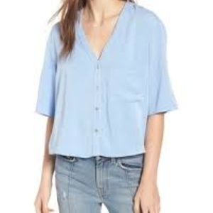 Chloe & Katie Button Up Shirt - Size M